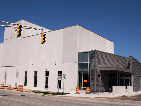 The Phoenix Theater Cultural Center, newly built at