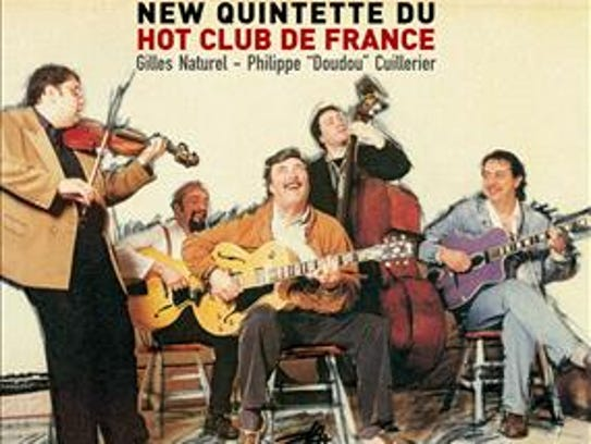 Quintette du Hot Club de France.