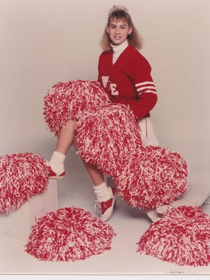 Heidi Wolfe was a high school cheerleader in the late
