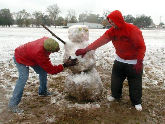 Snow in Lafayette