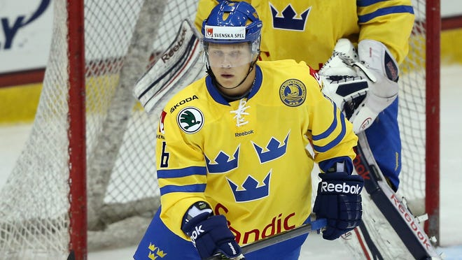 Jesper Pettersson first knew the Flyers had interest in him when he played for Team Sweden in the World Junior Championship this year.