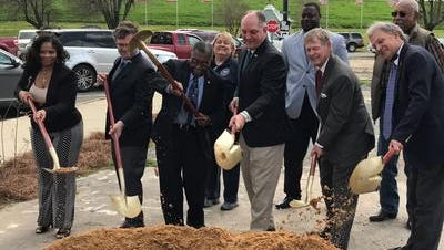 Gov. John Bel Edwards recently broke ground on a new water system in St. Joseph, which was bolstered by a $597,000 grant from the Delta Regional Authority.