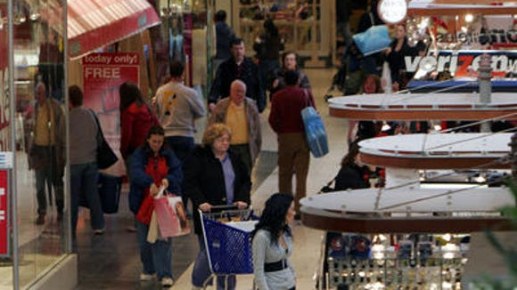 Inside the Jefferson Valley Mall, one of two malls in Yorktown