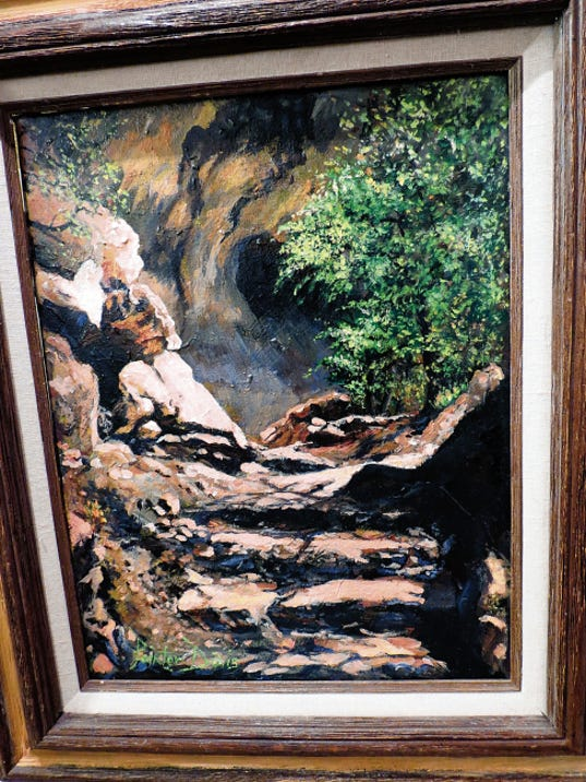 Path to the Cliff Dwelling