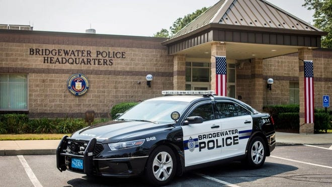 "Bridgewater police responded to a 911 call on Center Street, where a man was armed with knives and attempted ""suicide by cop"" on Aug. 23, 2020. The man was subdued by police with a Taser and was brought to a hospital for mental health treatment."