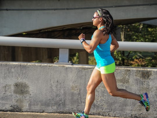 Jennifer Robinson is a Memphis Police Officer, and competes in bodybuilding competitions.