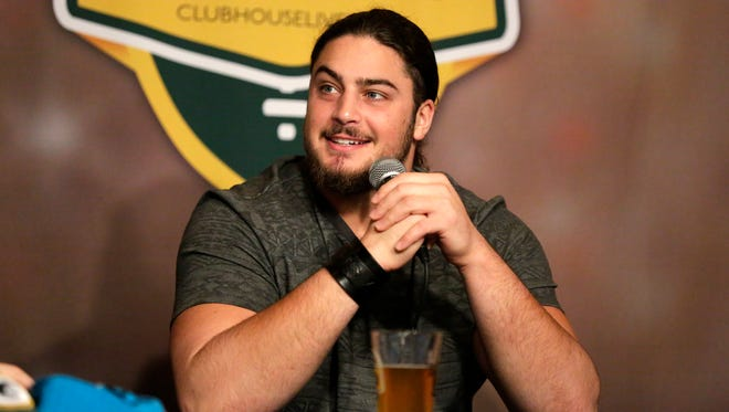 Green Bay Packers left tackle David Bakhtiari co-hosted Clubhouse Live on Monday. The show can be seen live from The Clubhouse in downtown Appleton or online at clubhouselive.com.