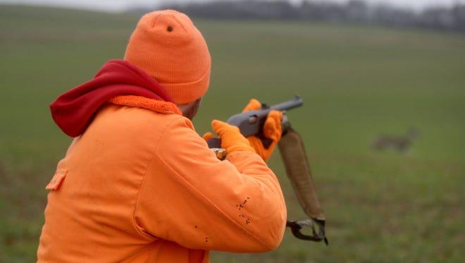 The gun deer season in Wisconsin begins on Saturday and runs through Nov. 25.