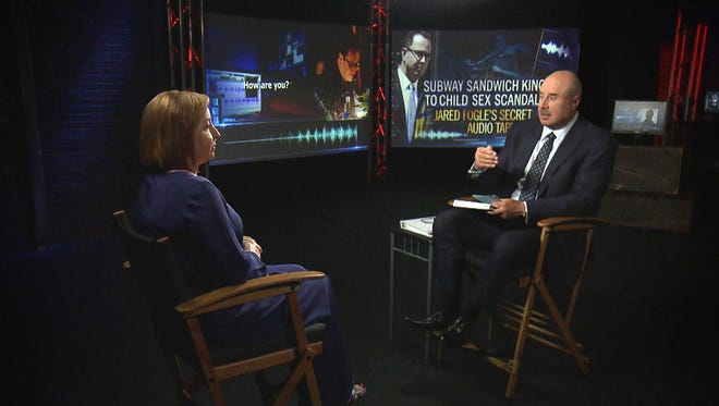 """Phil McGraw interviews Rochelle Herman-Walrond on """"Dr. Phil."""""""