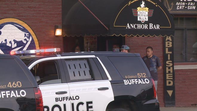 One person is dead and another was injured in a shooting that happened inside the Anchor Bar Friday at around 7 p.m.