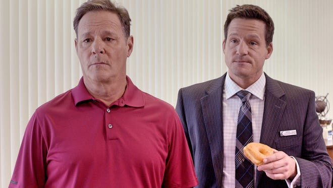 """Chris Mulkey (left) and Josh Hopkins star in """"Car Dogs."""""""