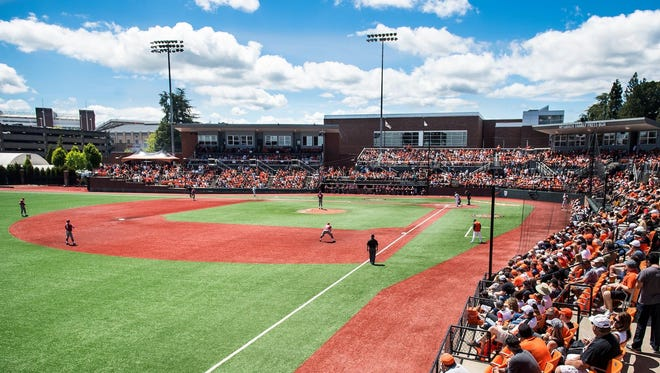 Goss Stadium at Coleman Field is home to the Oregon State baseball team.