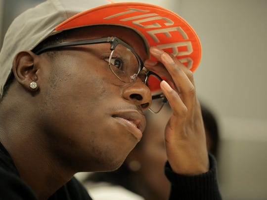 Charles English, 17, is pushing himself to realize his dream of attending Columbia University in New York.