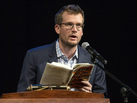 "Author John Green reads an excerpt from ""Turtles All"