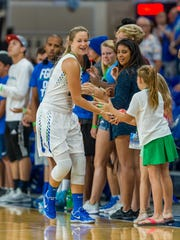 "Sixth-year FGCU senior Taylor Gradinjan said the fans make a ""huge"" difference for the Eagles, on and off the floor."