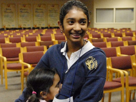 As a 6-year-old, Dhyana Mishra gave her big sister,