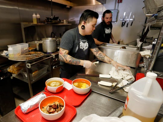 The Kitchen at Krunkwich Wednesday, April 15, 2015.