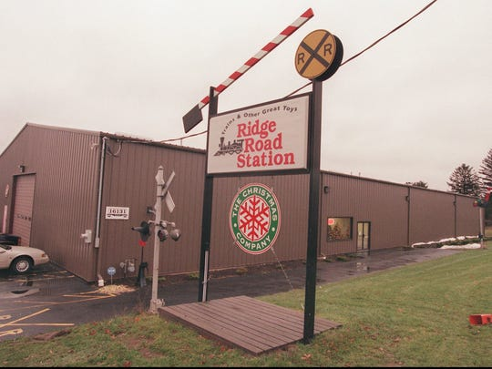 Dec. 4, 1996: The Ridge Road Station store in Holley, Orleans County, offered more than just miniature railroad supplies. A full line of toys, and Christmas season items filled the building.