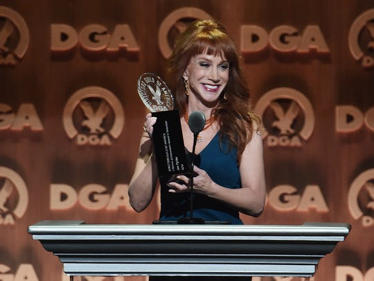 Kathy Griffin speaks onstage at the Directors Guild
