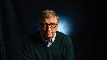 Bill Gates, 61, Microsoft cofounder and, along with wife Melinda, head of the Bill & Melinda Gates Foundation.