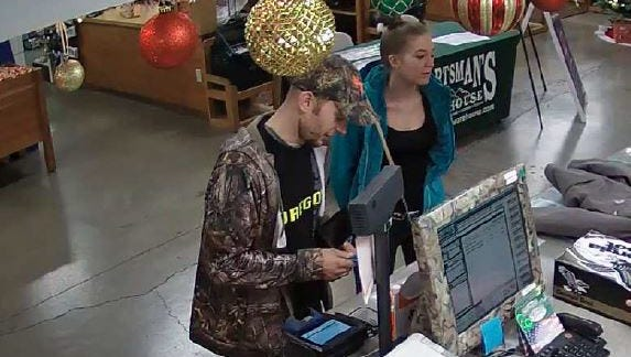 State police are looking for a man and woman suspected of stealing more than $10,000 in items from vehicles parked at Silver Falls State Park.
