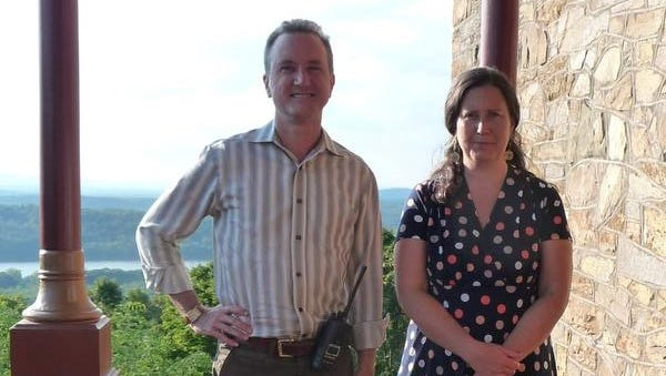 Paul Banks and Amy Hufnagel were recently hired by the Olana State Historic Site and the Olana Partnership.