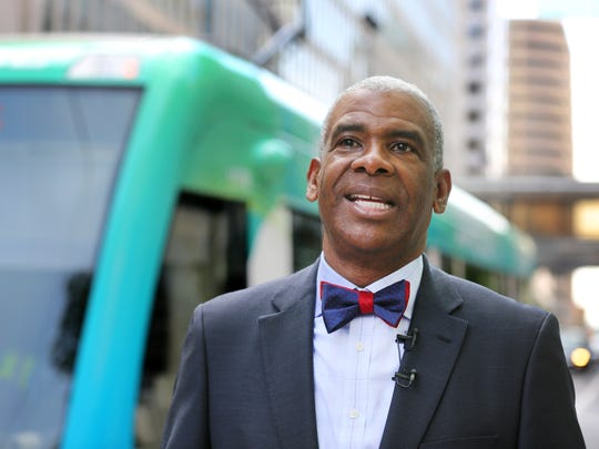 Metro's CEO Dwight A. Ferrell, talks about the first
