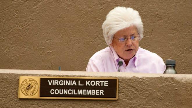 Scottsdale Councilwoman Virginia Korte has been a vocal supporter of a non-discrimination ordinance.