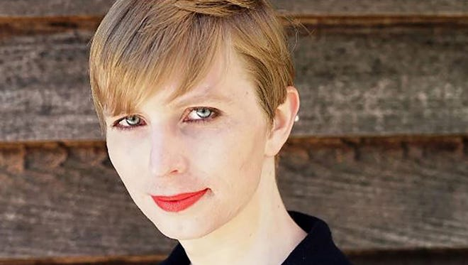 This file photo taken on May 18, 2017 shows  an Instagram account screen capture portrait of transgender former soldier Chelsea Manning which she posted on May 18, 2017 one day after being released from a top-security US military prison.