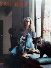 "The cover of Carole King's album ""Tapestry."" (Gannett News Service)"