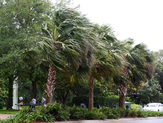 Subtropical Storm Alberto, the first named storm of