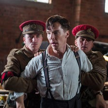 Benedict Cumberbatch in a scene from the 'The Imitation Game.'