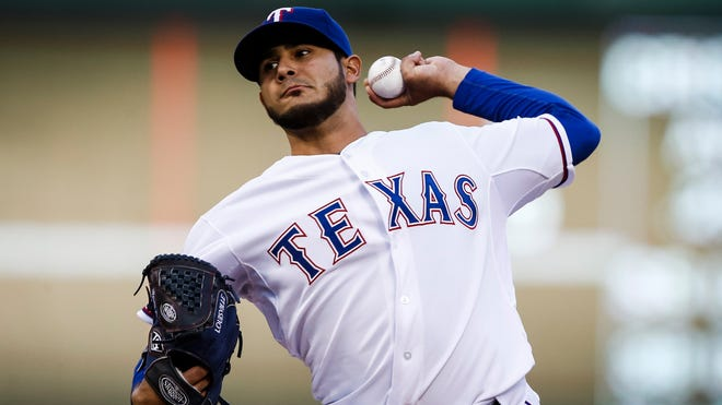 Rangers lefty Martin Perez became the latest pitcher to have his season end because of the need for Tommy John elbow surgery. He was 4-3 with a 4.38 ERA in eight starts.
