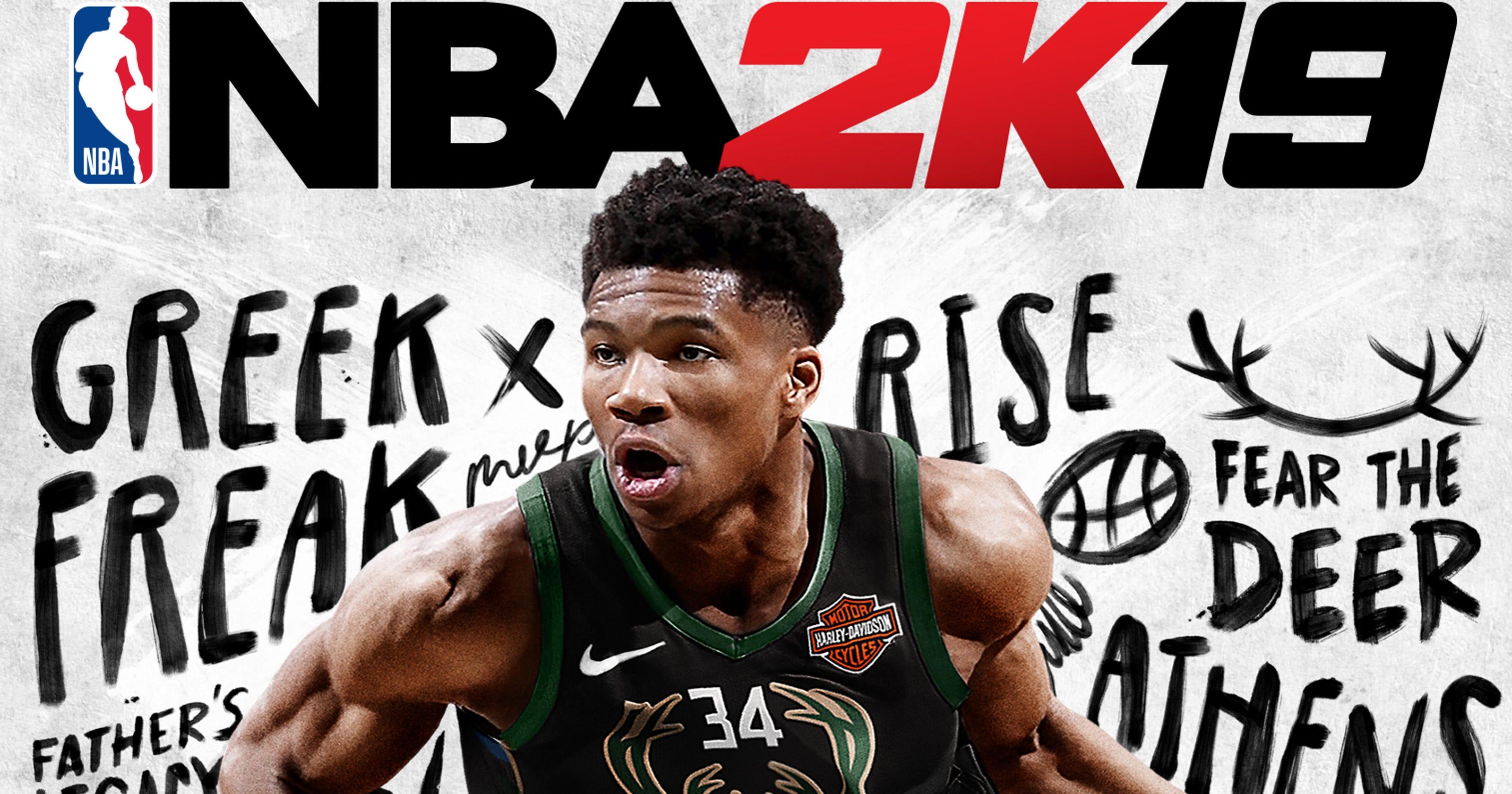 Dope Nba 2k19 Background: Bucks' Giannis Antetokounmpo Is NBA 2K19 Video Game Cover Star