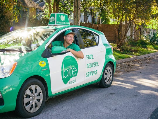 Bite Squad, a restaurant-delivery service, launched in Naples on Tuesday, with plans to expand into Bonita Springs next month.