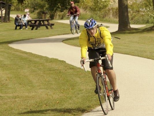 Mariners Trail biking biker