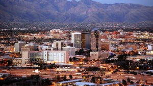 A view of the Tucson skyline.