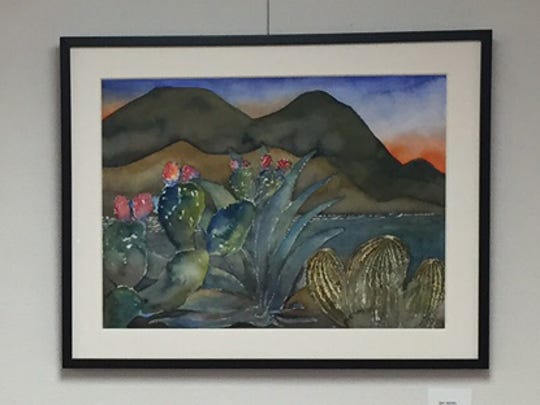 More than two dozen works by artist Alejandro Olmo will be on display at the Coachella Valley History Museum in Indio, through December.