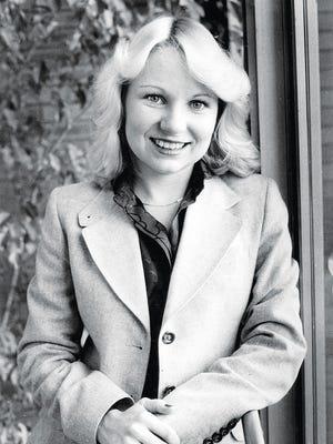 Lauren during her reporting days in 1979.