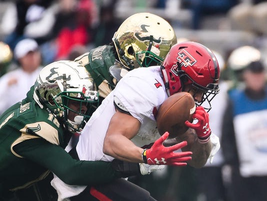 NCAA Football: Birmingham Bowl-Texas Tech vs South Florida