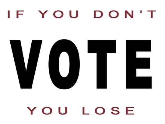 If you don't vote, you lose the right to complain.
