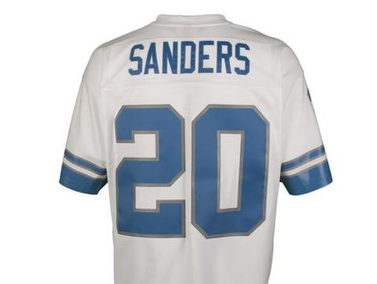 Barry Sanders' jersey.