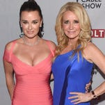Kyle Richards and Kim Richards of 'Real Housewives of Beverly Hills' in 2014.