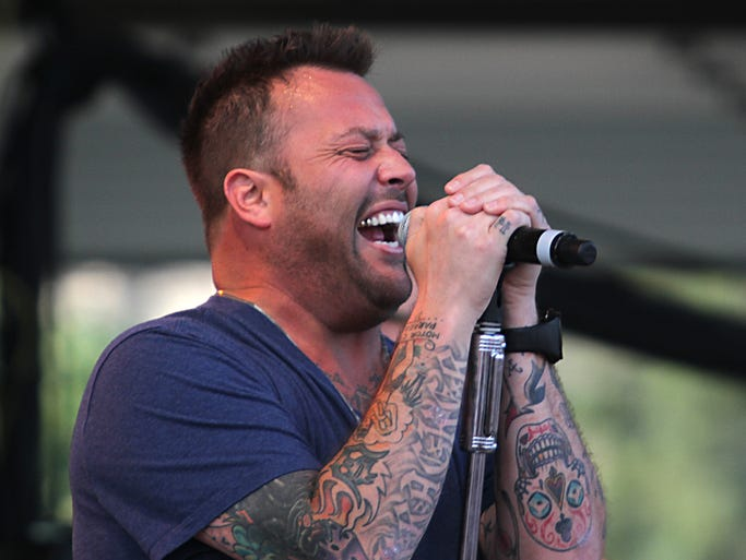 The Leach Amphitheater's  Waterfest brought  Under the Sun Tour to Oshkosh on Thursday with the music of Uncle Kracker, Sugar Ray, Blues Traveler and Smash Mouth to the downtown water front.