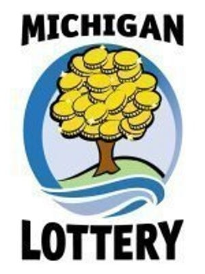 Michigan Lottery logo.