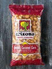 Golden Caramel Corn Nuggets from Arizona Snack Company.