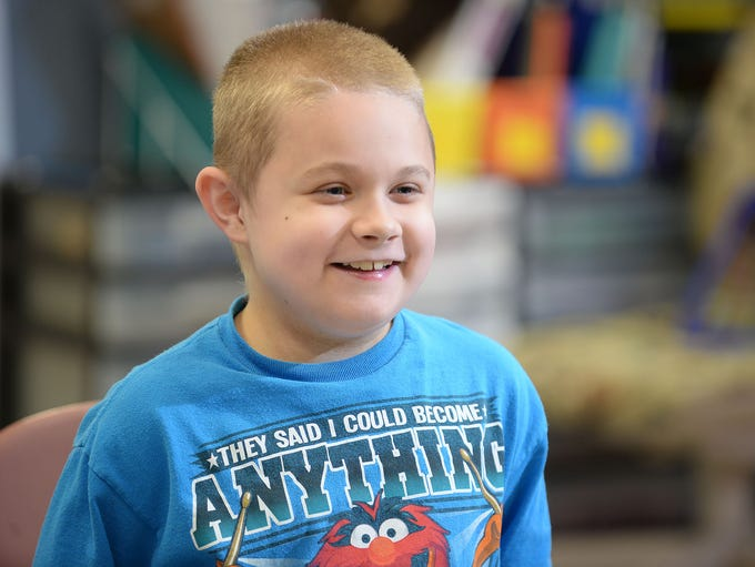 Silver Run student Conner Dill, 9, is all smiles in
