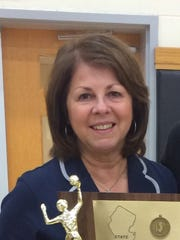 Immaculate Heart Academy volleyball coach Maria Nolan.