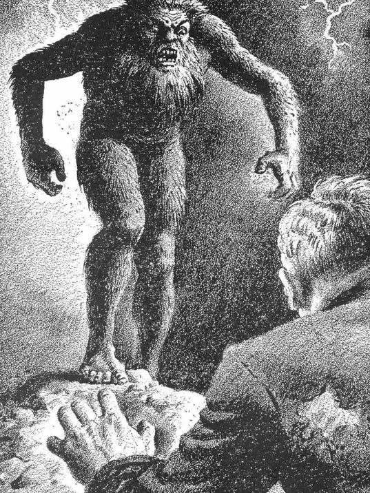 Image result for bigfoot sighting
