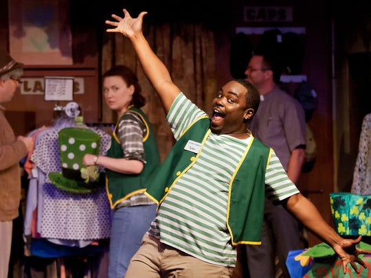 "A scene from Broadway Palm's 2015 production of ""Second Chances: The Thrift Shop Musical."""